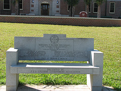 fsu s monuments and memorials benches as monuments